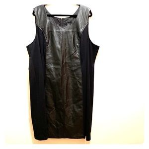 Lane Bryant Faux Leather Dress